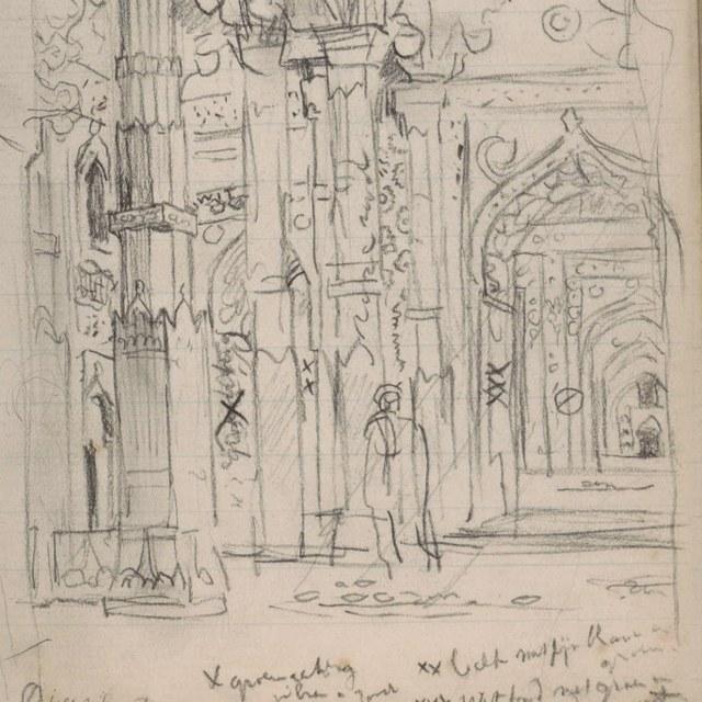 Schetsboekje, India (1897-'98)