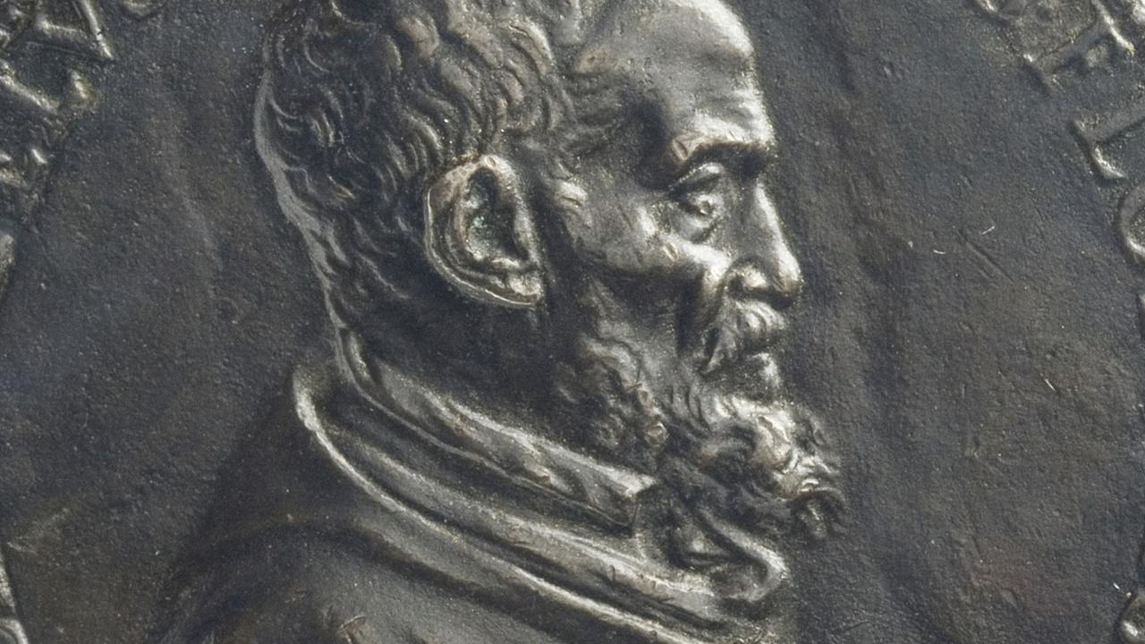 Portret van Michelangelo Buonarotti (1563)