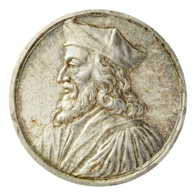 Hieronymus van Praag, theoloog, als ketter levend verbrand in 1416.