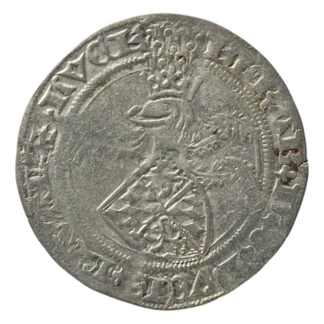 Groot uit Luxemburg op naam van Elizabeth van Görlitz, weduwe van Jan van Beieren, pandhouder van Luxemburg.