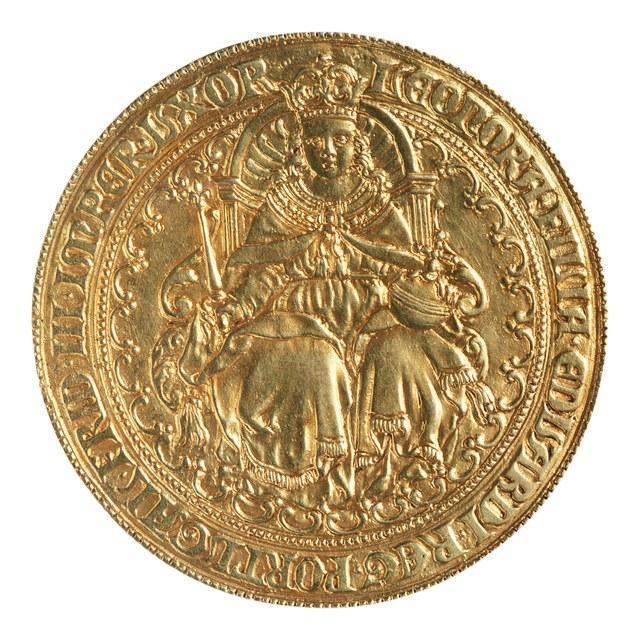 Huwelijk van Eleonora, dochter van Eduard, koning van Portugal met keizer Frederik III, in 1452.