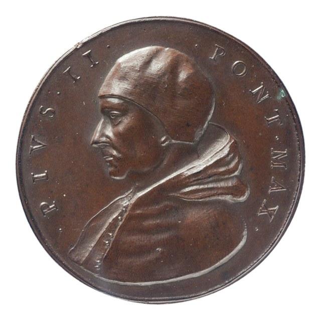Aeneas Sylvius Piccolomini, paus Pius II (later werk).
