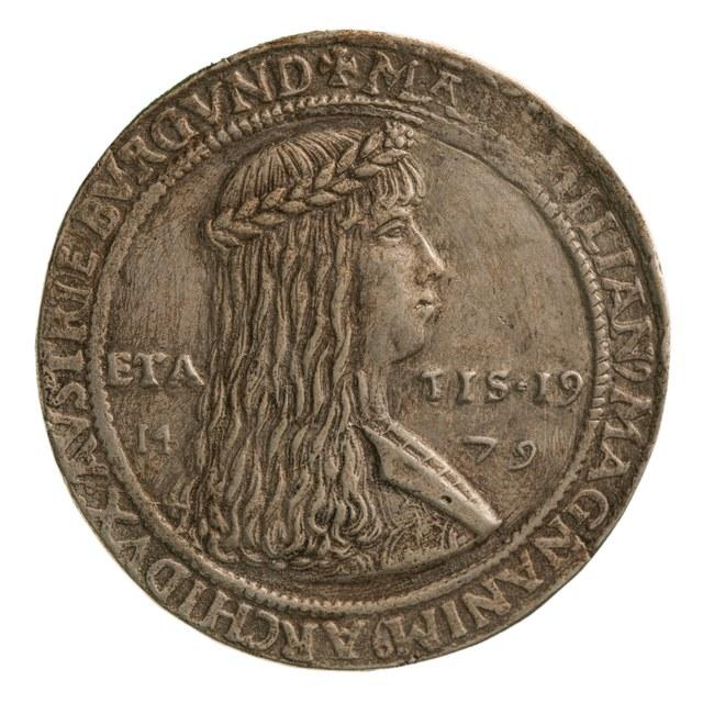 Huwelijk van Maximiliaan, hertog van Oostenrijk met Maria, hertogin van Bourgondië.
