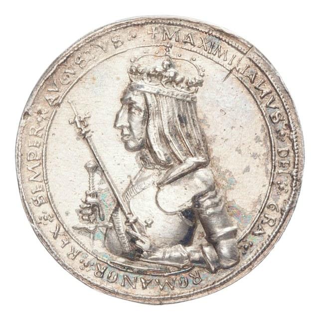 Maximiliaan I als Rooms koning.