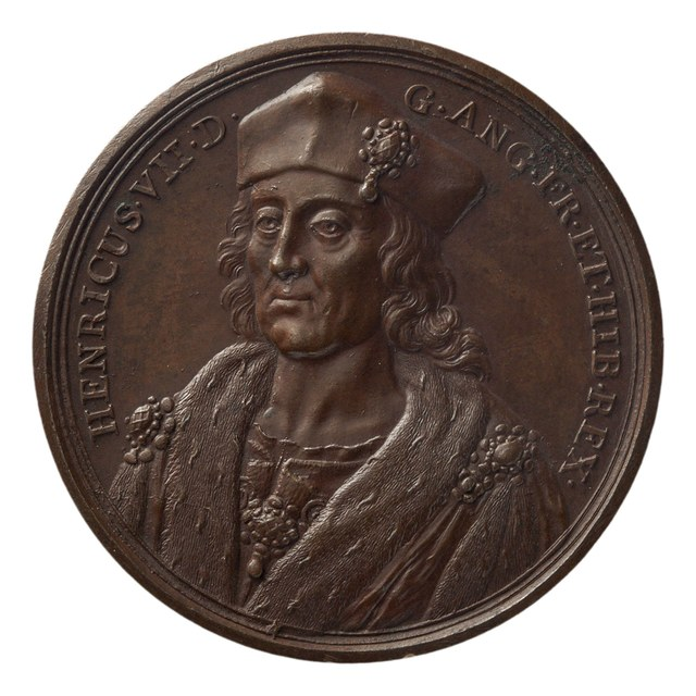 Hendrik VII, koning van Engeland, overleden in 1509.