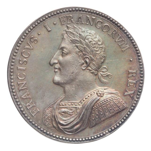 Overwinning van Frans I, koning van Frankrijk, op de Zwitsers bij Marignan (later werk).