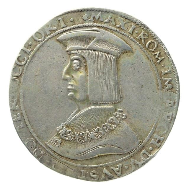 Taler uit het Heilige Roomse Rijk, tijdens de Rijksdag gemunt.