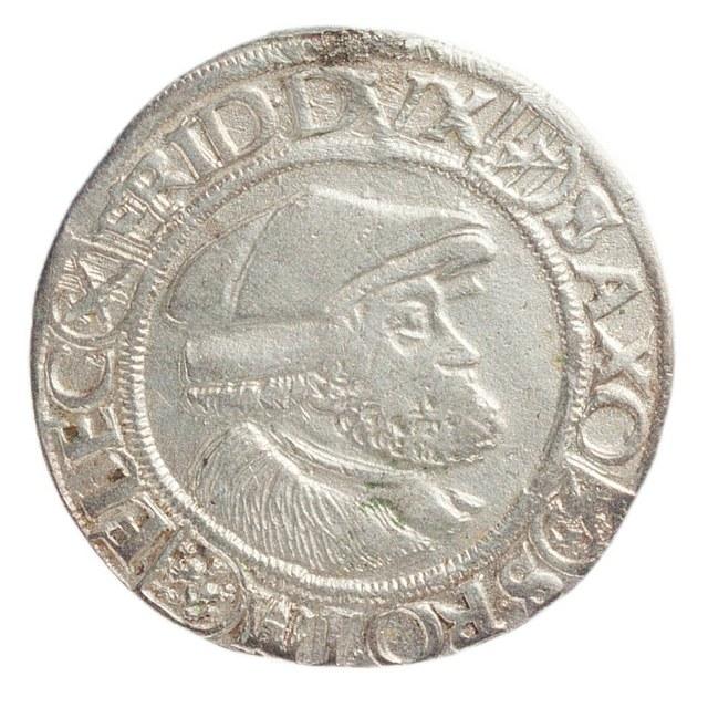 Frederik (Frederik de Wijze), keurvorst van Saksen, als beschermer van de Evangelische leer.