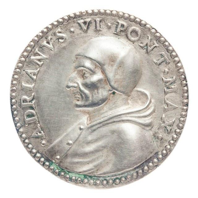 Overlijden van Adriaan Floriszoon Boeyens (paus Adrianus VI).