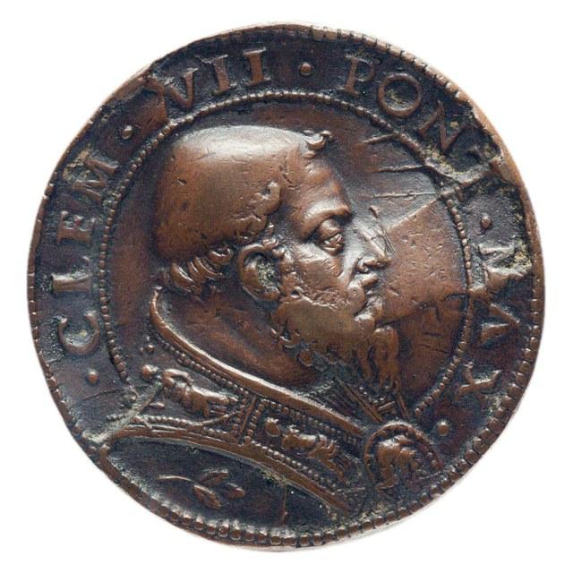 Wapenstilstand tussen paus Clemens VII (de tweede) en keizer Karel V.