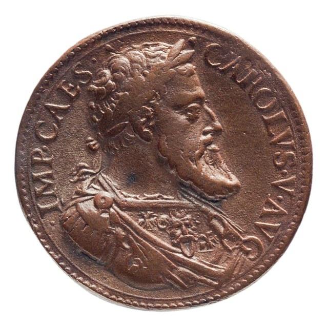Inname van Rome door keizer Karel V (later werk).