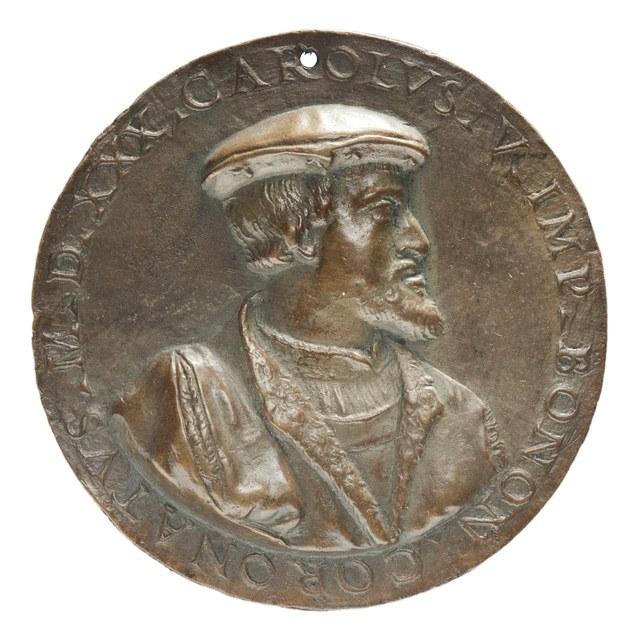 Kroning van Keizer Karel V te Bolonga.