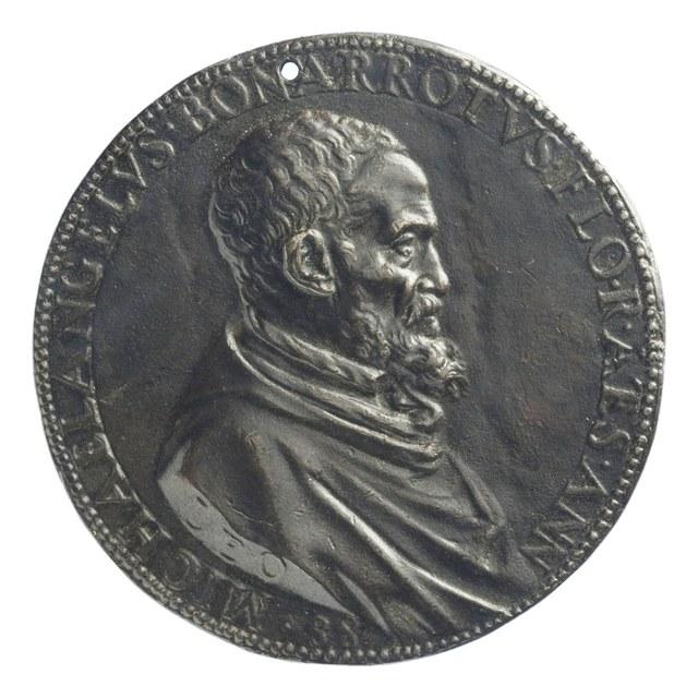 Kunstenaar en uitvinder Michelangelo Buonarroti.
