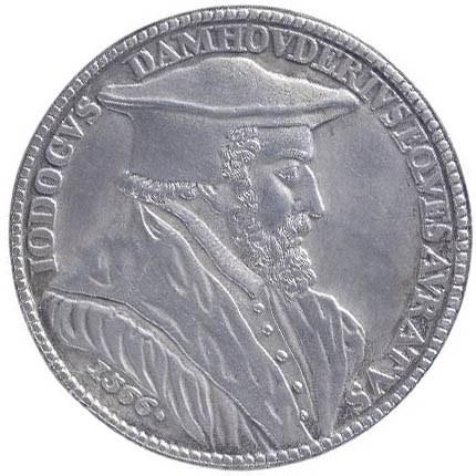 Mr Joost Damhouder (1507-1581), jurist en voorvechter van heksenvervolgingen (later werk).