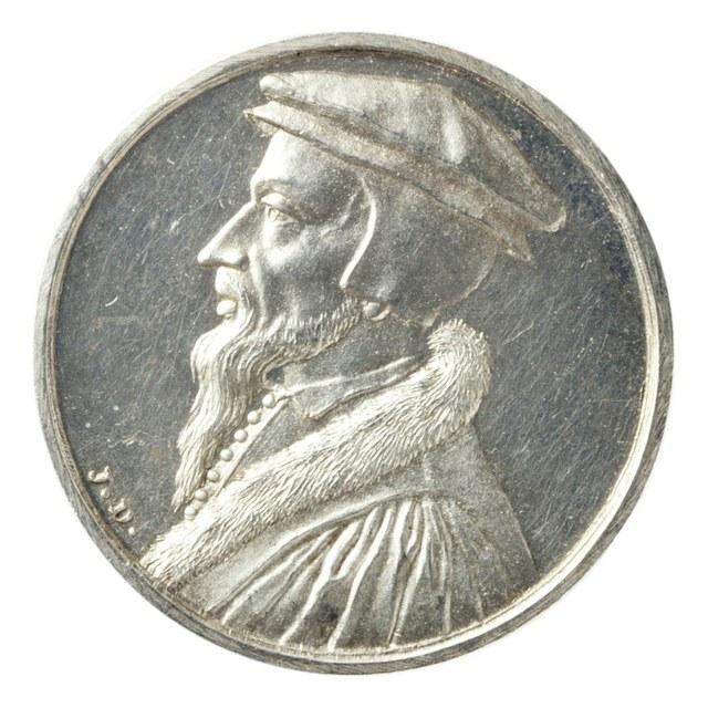 Johannes Calvijn, theoloog en kerkhervormer, 1564.