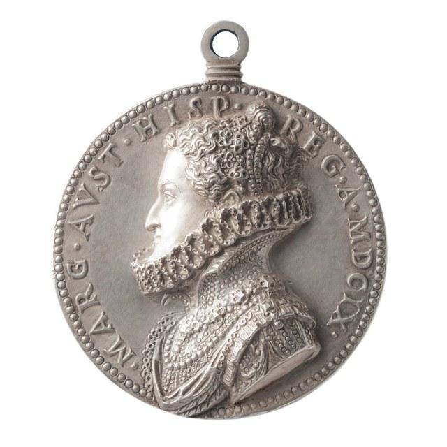 Philips III, koning van Spanje en zijn echtgenote, Margaretha van Oostenrijk.