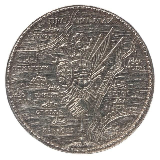 Inname van Gulik door de troepen van Prins Maurits.