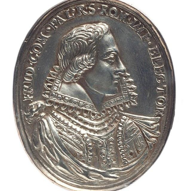 Huwelijk van Frederik, keurvorst van de Paltz, met prinses Elisabeth van Engeland.