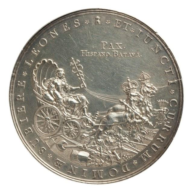 Vrede van Münster, gesloten tussen de Nederlanden en Spanje - einde van de Tachtigjarige Oorlog (1568-1648).