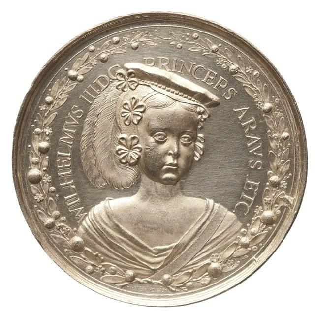 Willem III, prins van Oranje, graaf van Nassau, stadhouder 1672-1702, wordt 5 jaar.
