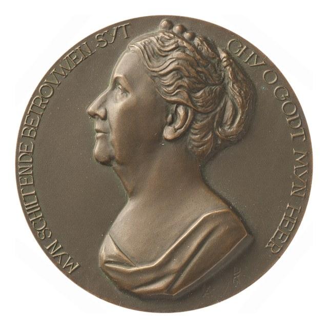Koningin Wilhelmina, uitgave van de Vereniging voor Penningkunst.