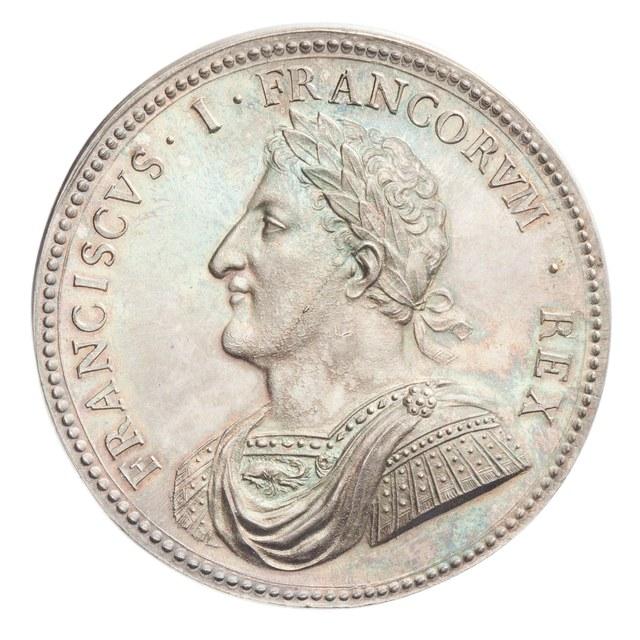 Herstel van de vrede en het terugkrijgen van Doornik door Frans I, koning van Frankrijk (later werk).