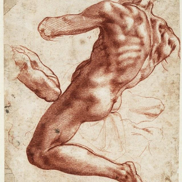 Alle Michelangelo's van Teylers Museum naar Los Angeles