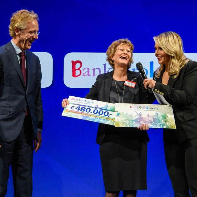 BankGiro Loterij schenkt vijf ton voor nieuwe publiekservaring in Teylers Museum