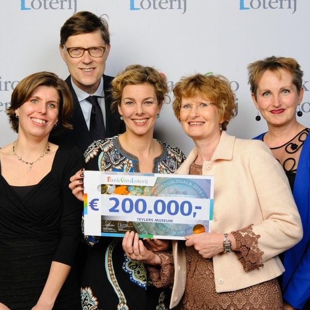 BankGiro Loterij steunt Teylers Museum