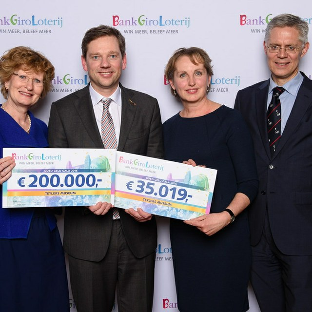 Blij met vaste bijdrage BankGiro Loterij