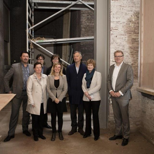 Burgemeester en Wethouders bezoeken Lorentz Lab