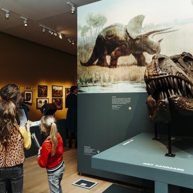 DinoDag in Teylers Museum op 16 februari