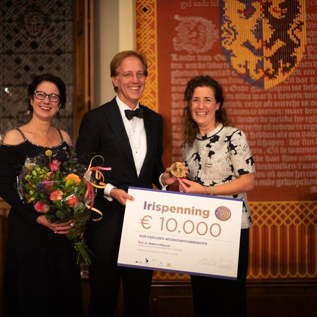 Robbert Dijkgraaf vereerd met erkenning belang van wetenschap