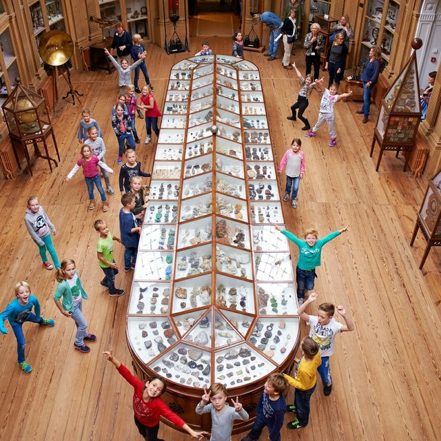 Teylers Museum is met een 8,5 Kidsproof!