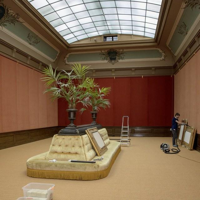 Teylers' Tweede Schilderijenzaal transformeert voor Leonardo da Vinci-tentoonstelling