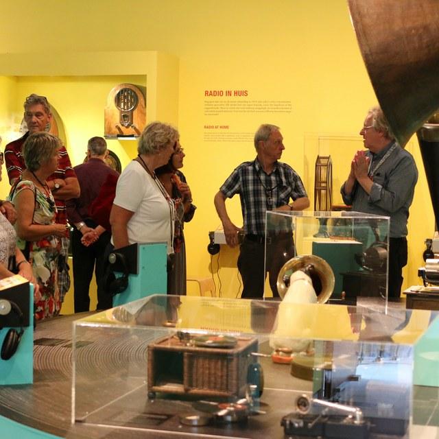 XL Bruikleen tussen Teylers Museum en Beeld en Geluid