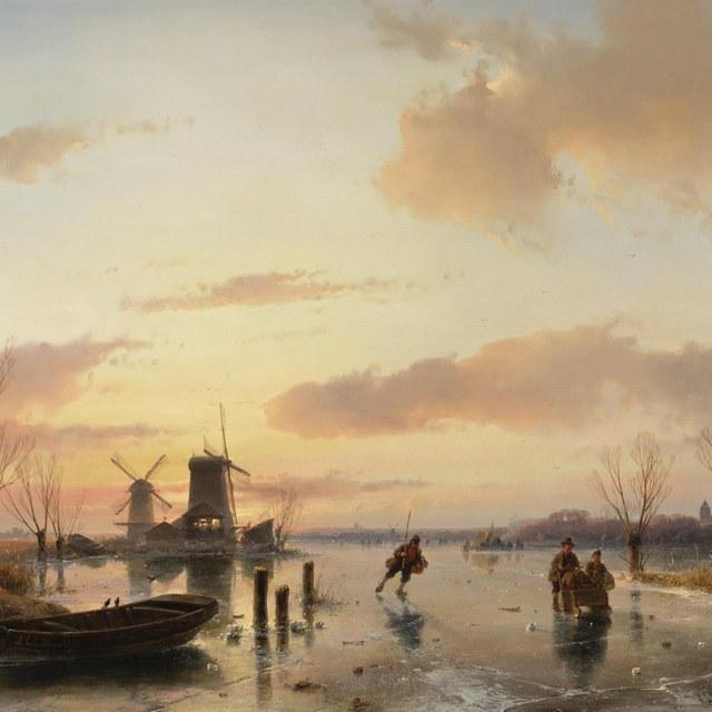 Echte winters in Teylers Museum